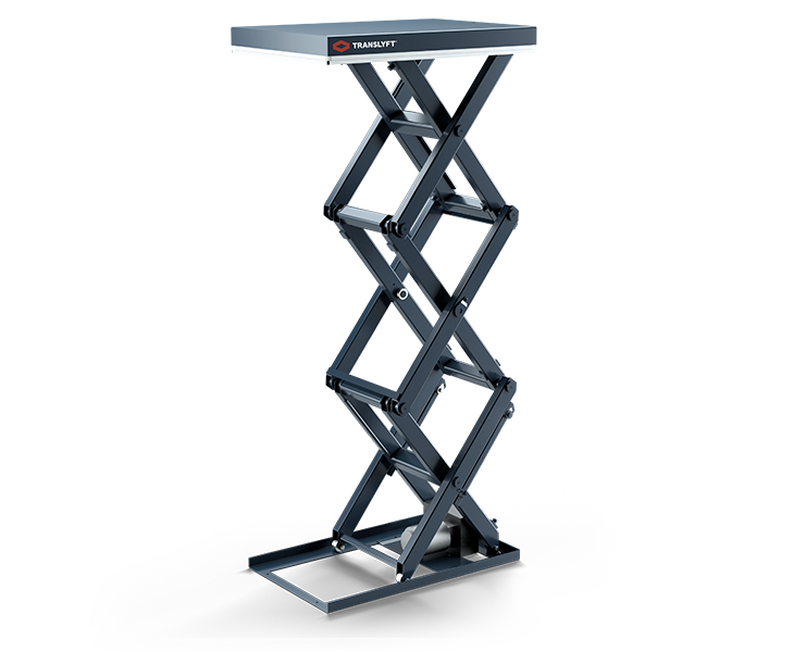 Triple vertical scissor lift - Allows you to lift higher