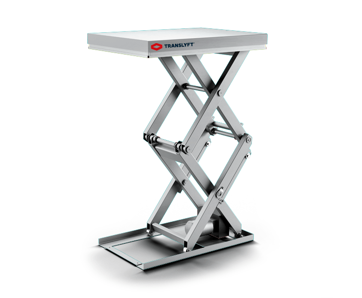 translyft stainless steel lifting table