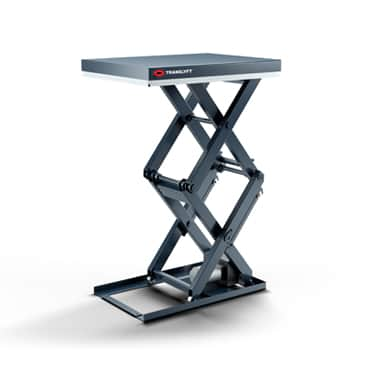 TRANSLYFT Double vertical lifting table