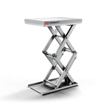 stainless steel lifting table